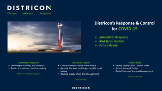 Districon's Response & Control for COVID19